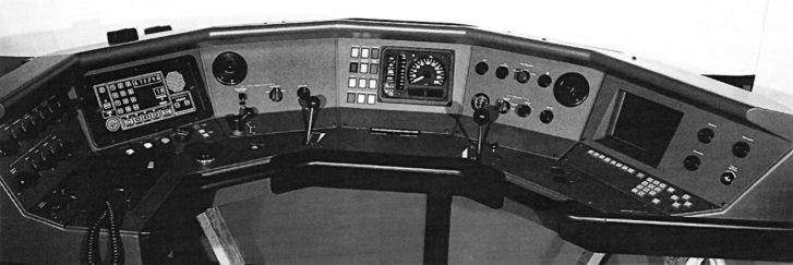 Prototype of the DM '90 control console